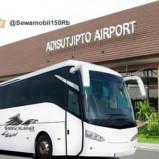 Bus Pariwisata ke Jogja