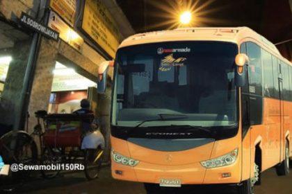 Tarif Sewa Bus Pariwisata Jogja