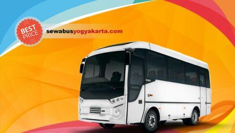 Sewa Medium Bus Jogja Ukuran Sedang 35 Kursi Penumpang